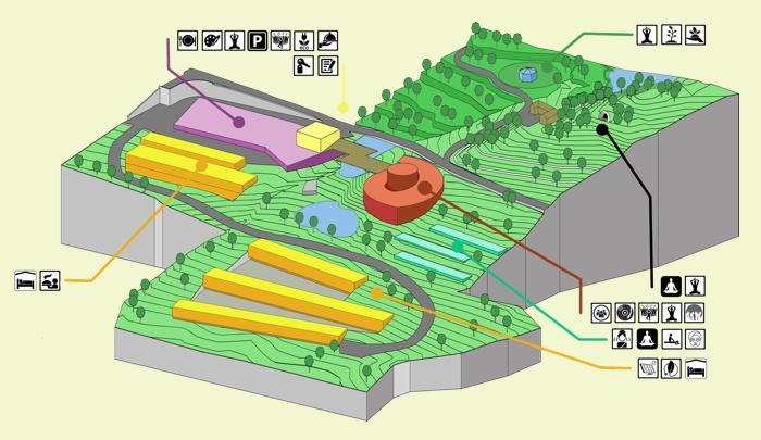 Monte Alegre Axonometric scheme